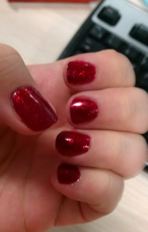 China Glaze Ruby Slippers