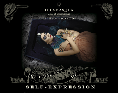 Are you dying for an Illamasqua make over?