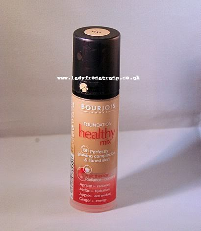 Review : Bourjois Healthy Mix Foundation (53)