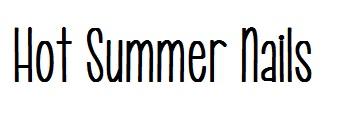 Hot Summer Nails