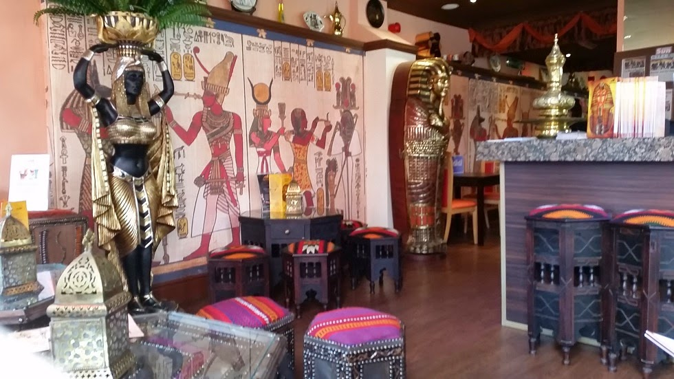 Arabesque egyptian restaurant sunderland lady from a tramp