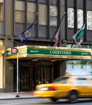 Midtown East Courtyard Hotel, Manhattan, New York