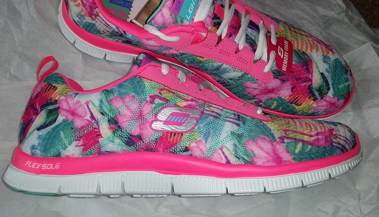 Tramp Floral Appeal Bloom A Skechers Flex Lady From TOXZwPkiu