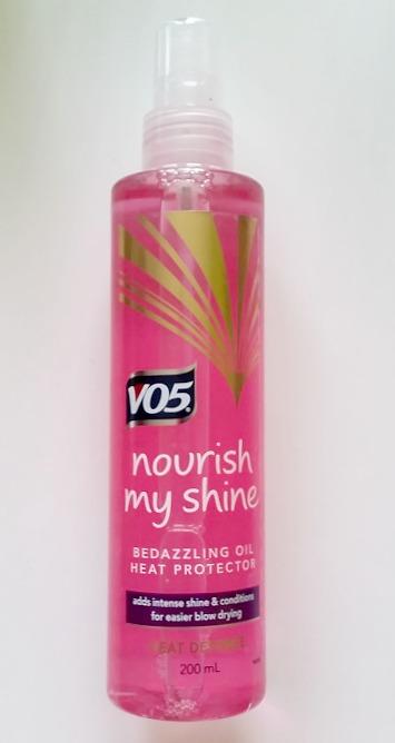 VO5 Nourish My Shine Bedazzling Oil Heat Protector