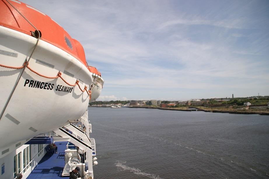 DFDS Sunderland Air Show Sailing