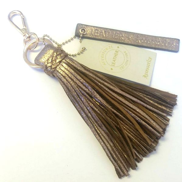 Accessorize Leather Tassel