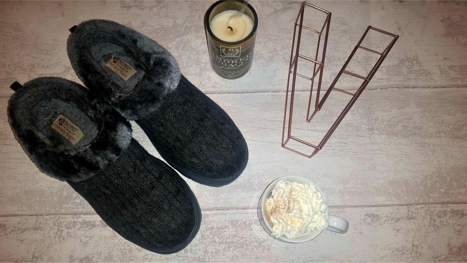 BOBS by Skechers Memory Foam Slippers