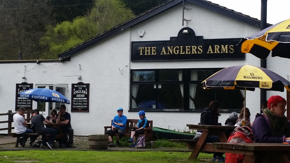... to eat was harder than we thought. Then we found the The Anglers Arms