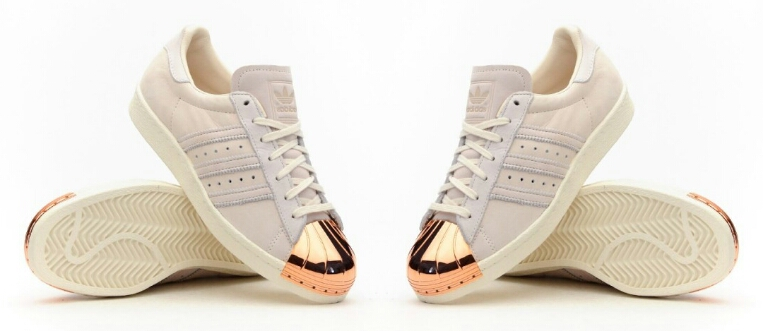 wxrtr Adidas Superstar 80s Rose Gold - Lady From a Tramp