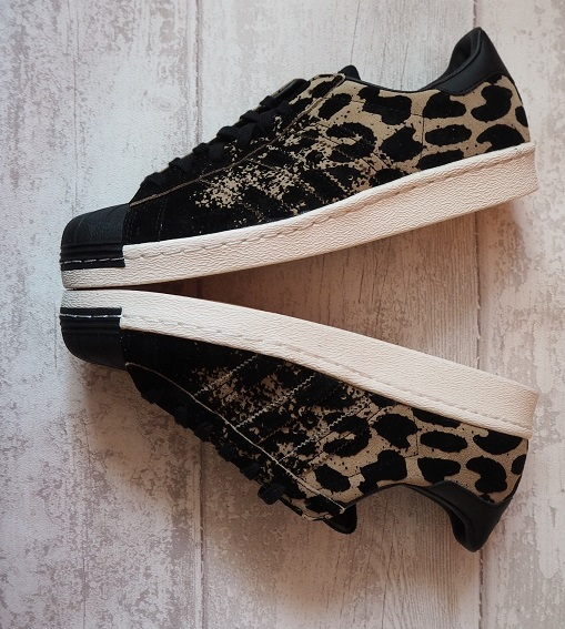 Adidas Original Superstar 80s Ombre Leopard