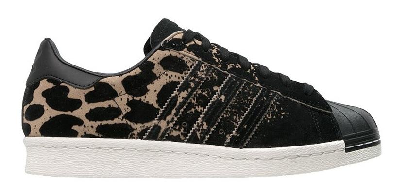 Adidas Originals Superstar 80s Ombre Leopard Print