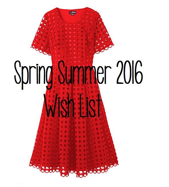 Simply Be SS16 Wishlist 1
