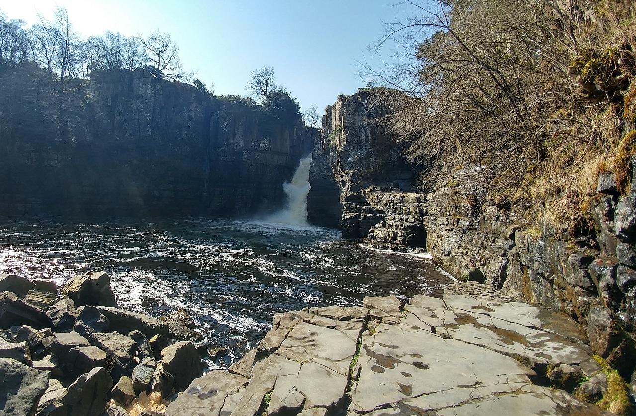 High Force Waterfall Teesdale Durham 4