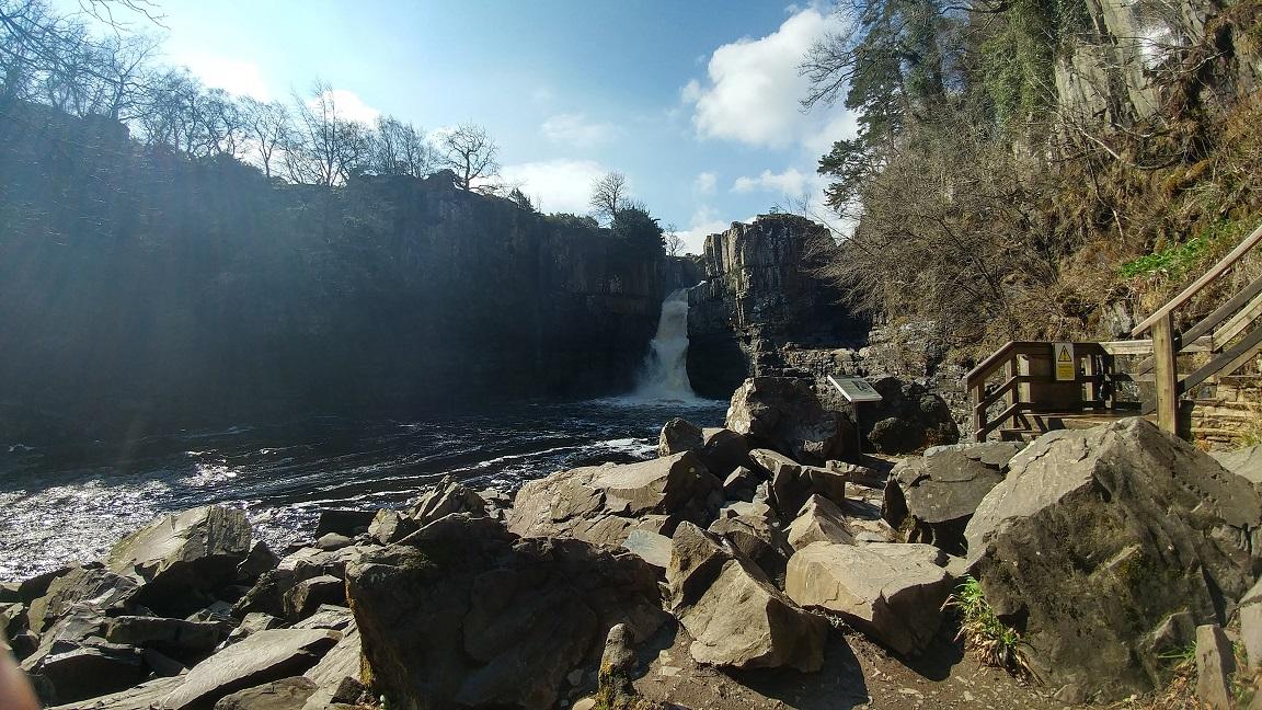 High Force Waterfall Teesdale Durham 5