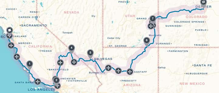 Road Trip Route