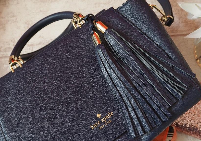 Kate Spade Long Acre Court Plum Bag