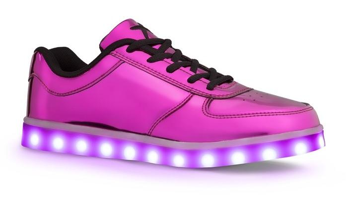 Wize & Ope Light Pop Disco Trainers