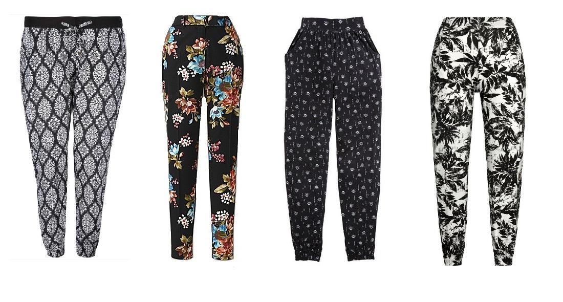 How to wear harem pants for Summer