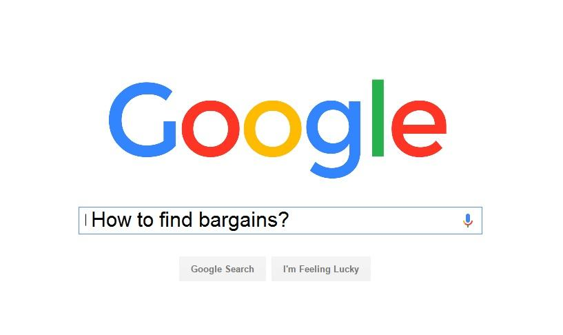 how to find bargains