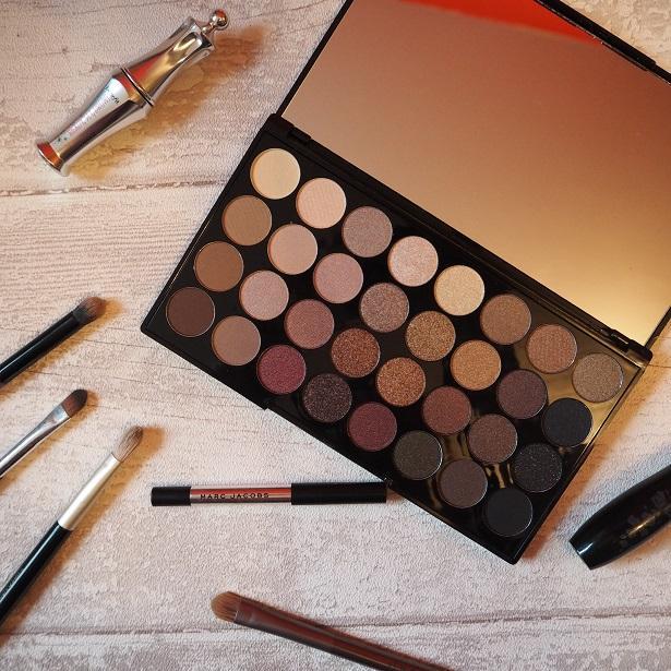Make Up Revolution 32 Shade Eyeshadow Palette in Flawless
