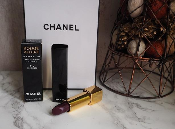 Chanel Rouge Allure 149 Elegante Review