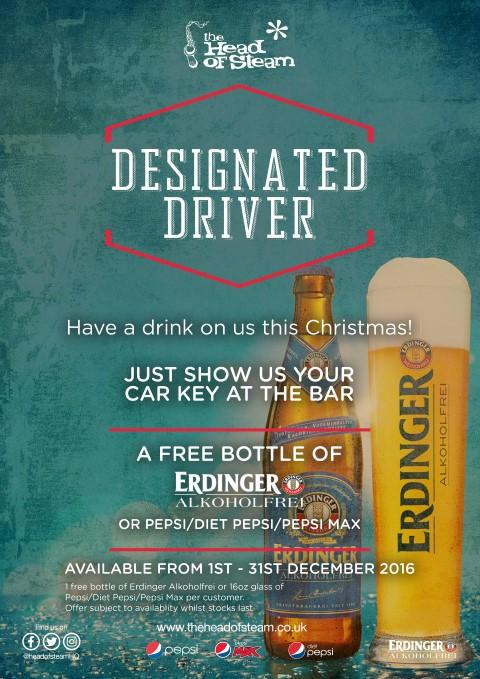 Designated Driver Scheme Newcastle