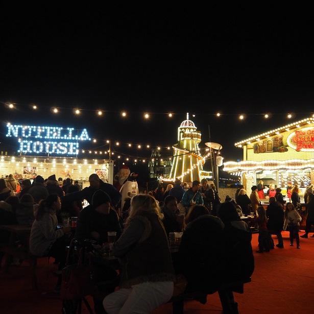 Edinburgh Christmas Market 2016