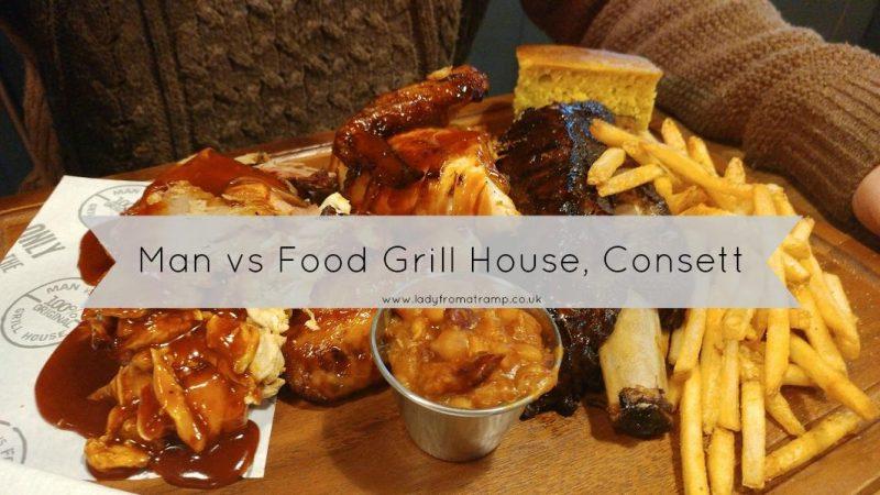 Man vs Food Consett