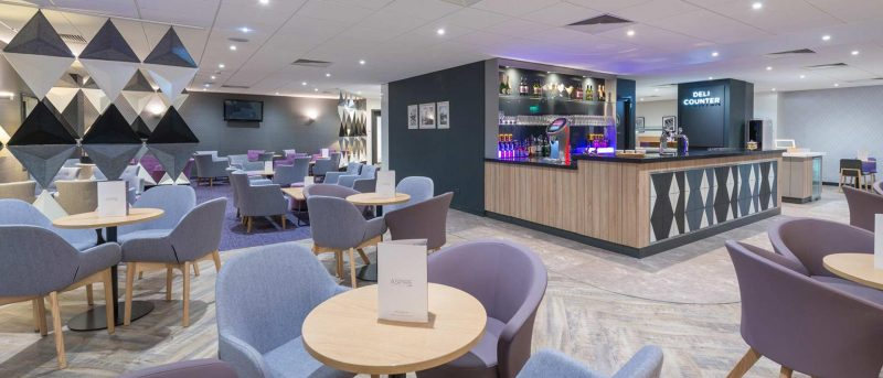 Manchester Airport Terminal 2 Aspire Lounge