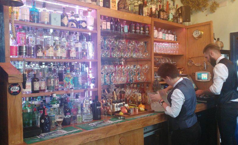 Tin of Sardines Gin Bar Durham