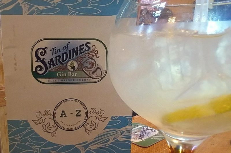 Tin of Sardines Gin Bar Durham