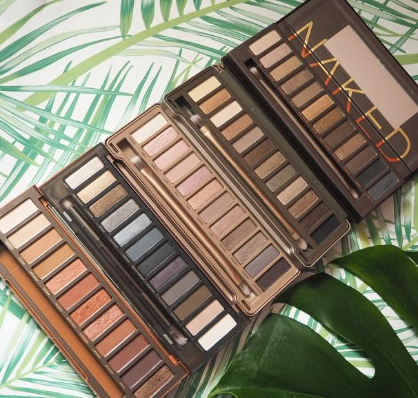 Urban Decay Naked Palette Collection