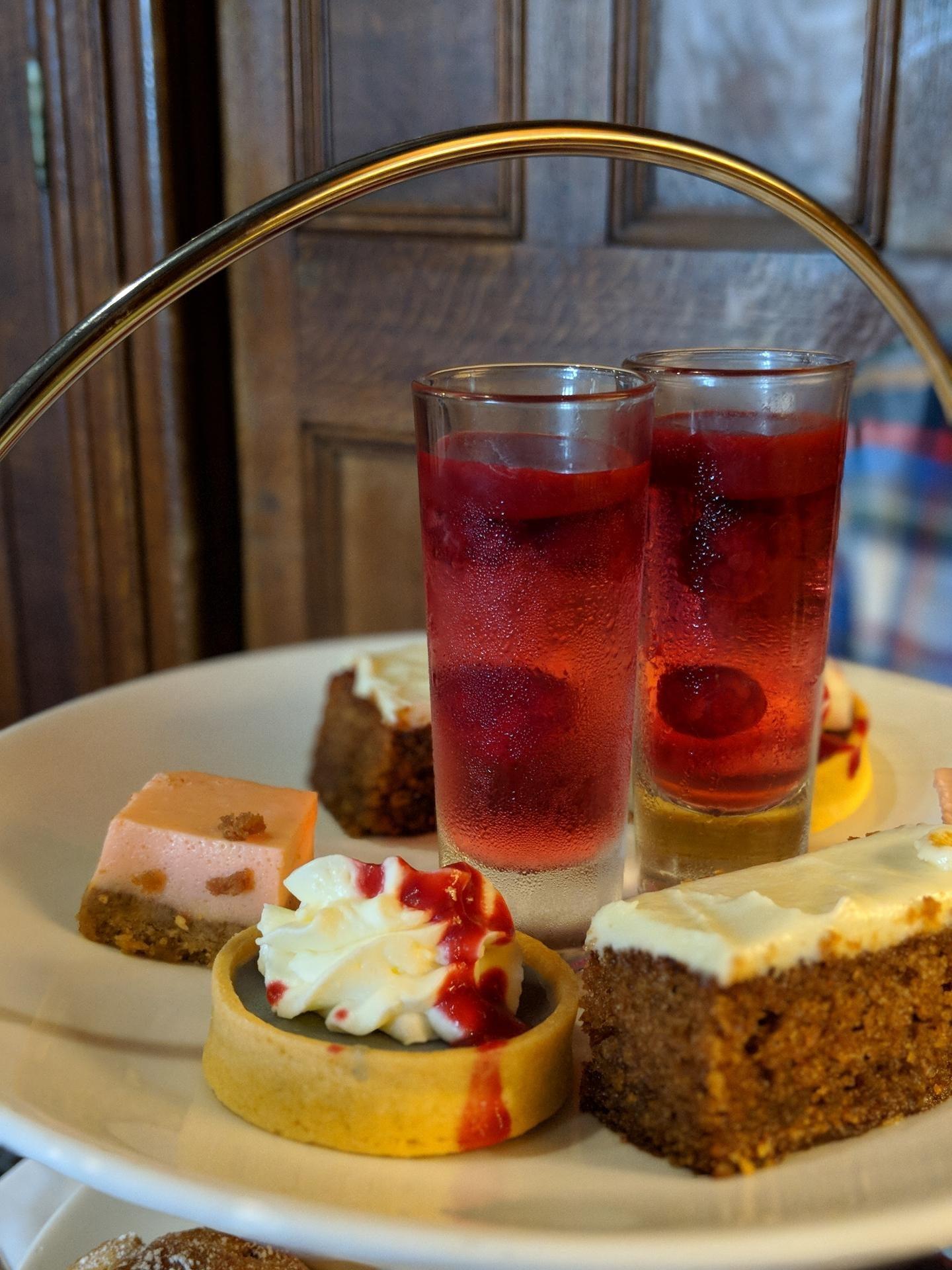 Matfen Hall Pink Afternoon Tea