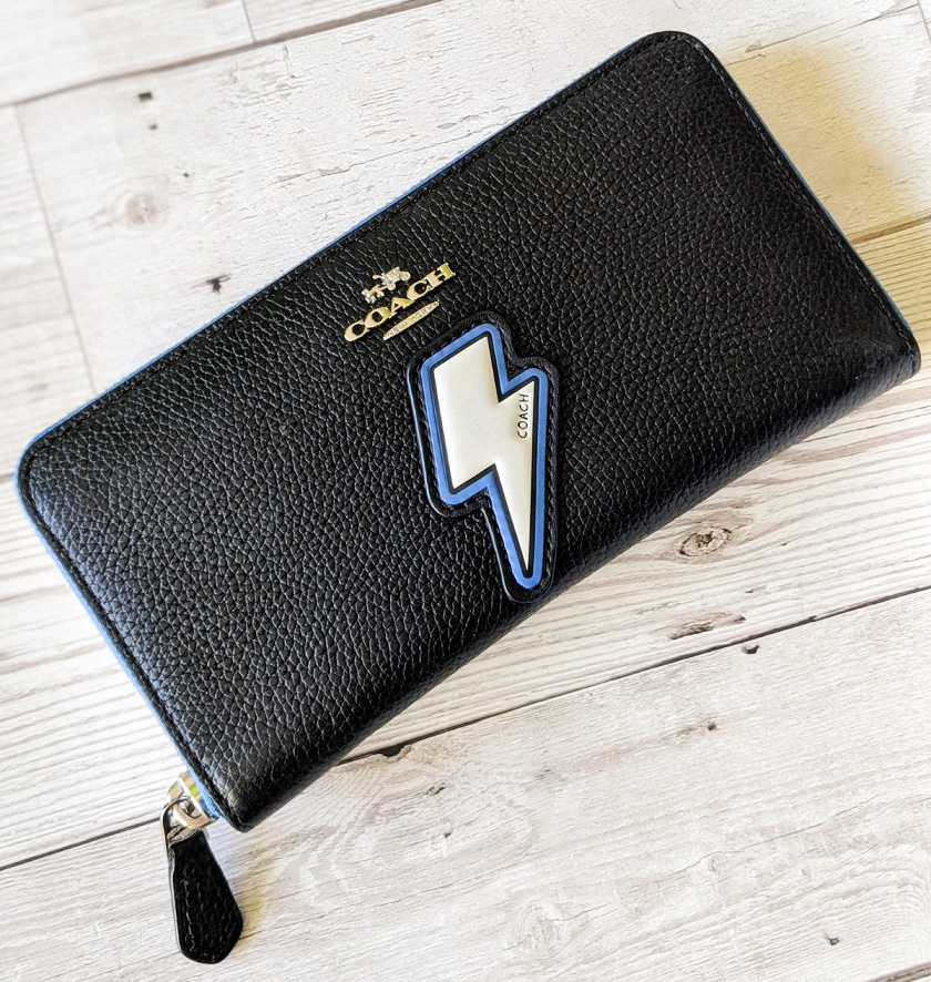 Coach Lightning Bolt Wallet