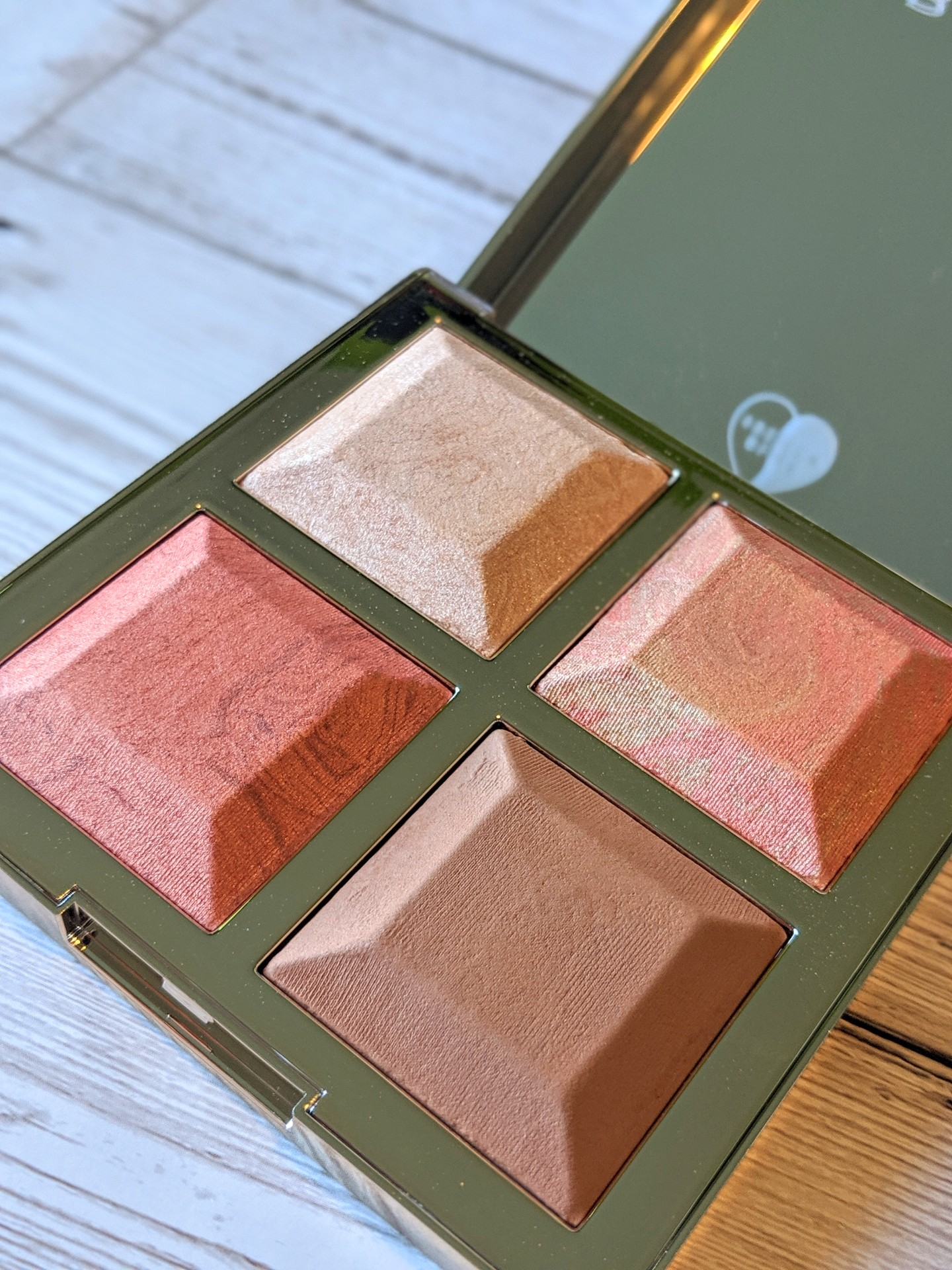 Becca x Khloe Kardashian & Malika Haqq Bronze, Blush and Glow Palette